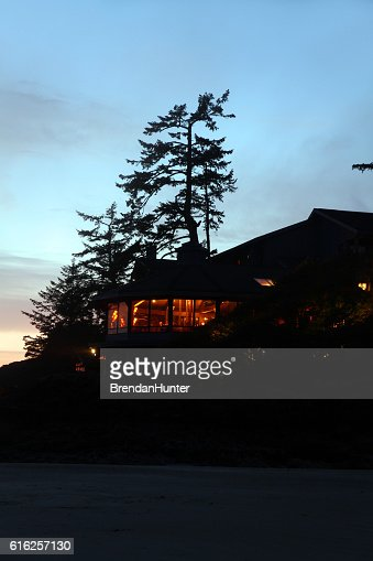 Sunset Hotel : Stock Photo