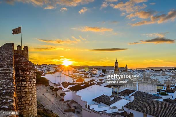 Sunset in Antequera, Málaga.