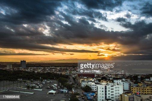 Sunset in Aparecida