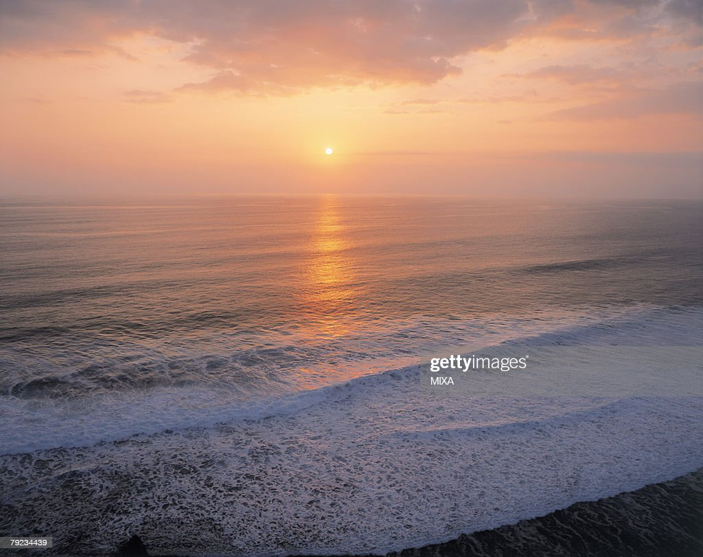 Sunset in Bali, Indonesia : Stock Photo