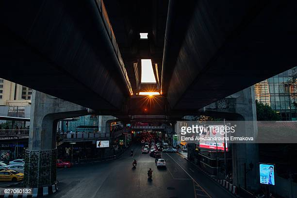 Sunset in Bangkok, Thailand