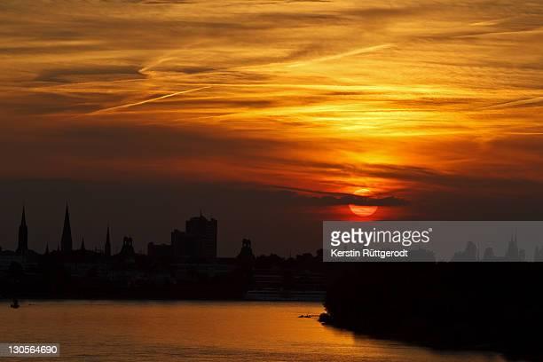 Sunset in Bonn