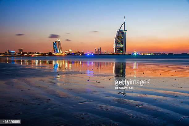 Sunset in Burj Al Arab