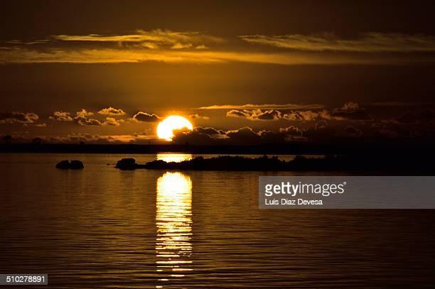Sunset in Cambados