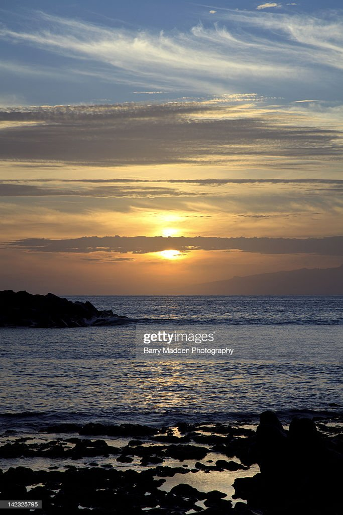 Sunset in Canary Islands