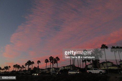 Sunset in Carlsbad, California
