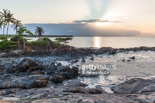 Sunset in Cayenne