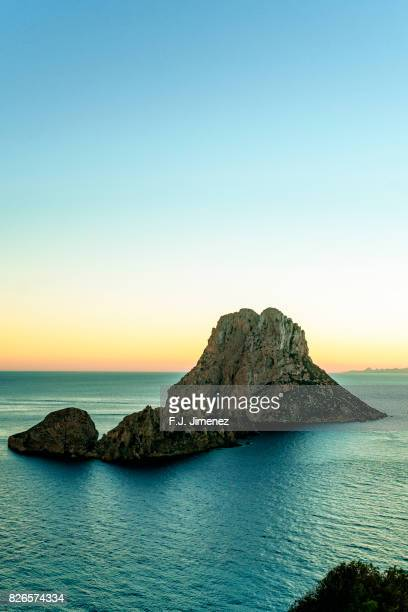 Sunset in es vedra, Ibiza
