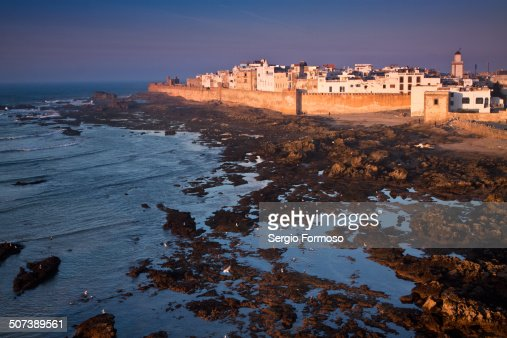 Sunset in Essaouira