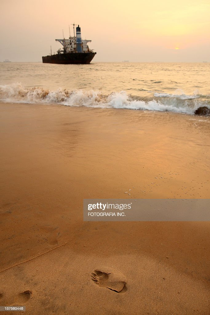Sunset in Goa : Stock Photo