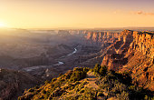 Sunset in Grand Canyon
