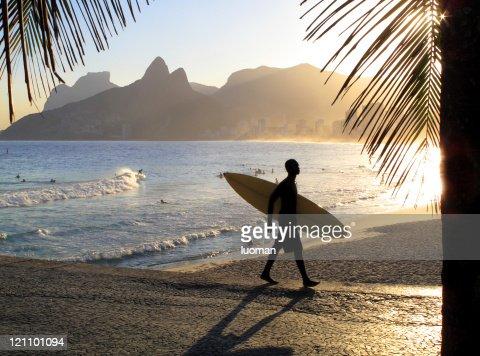Sunset in Ipanema Beach - Rio de Janeiro