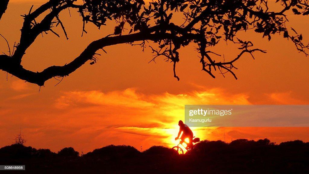 Sunset in izmir : Stock Photo