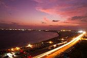 Sunset in Lagos - Nigeria