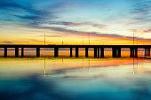 Sunset in Mobile Alabama