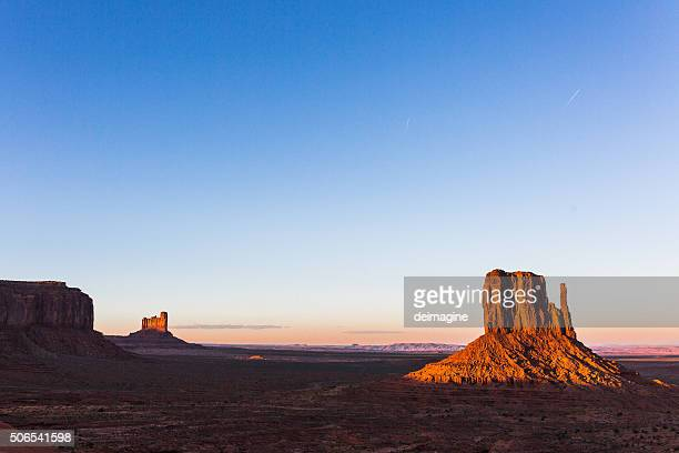 Sunset in Monument Valley, Arizona