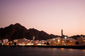 Sunset in Muscat