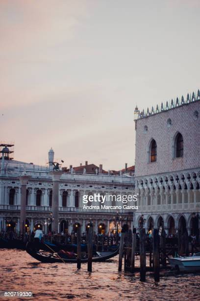 Sunset in Piazza San Marco, Venice