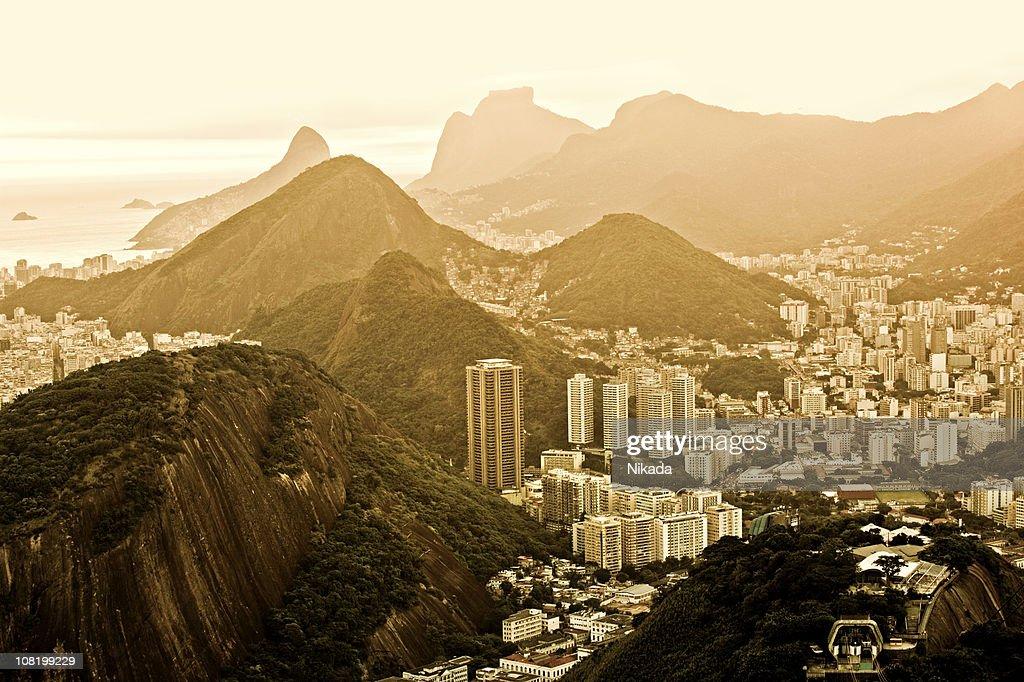 Sunset in Rio : Stock Photo