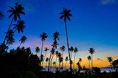 Sunset in Taveuni