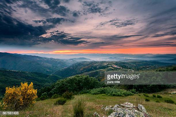 Sunset in the Bierzo