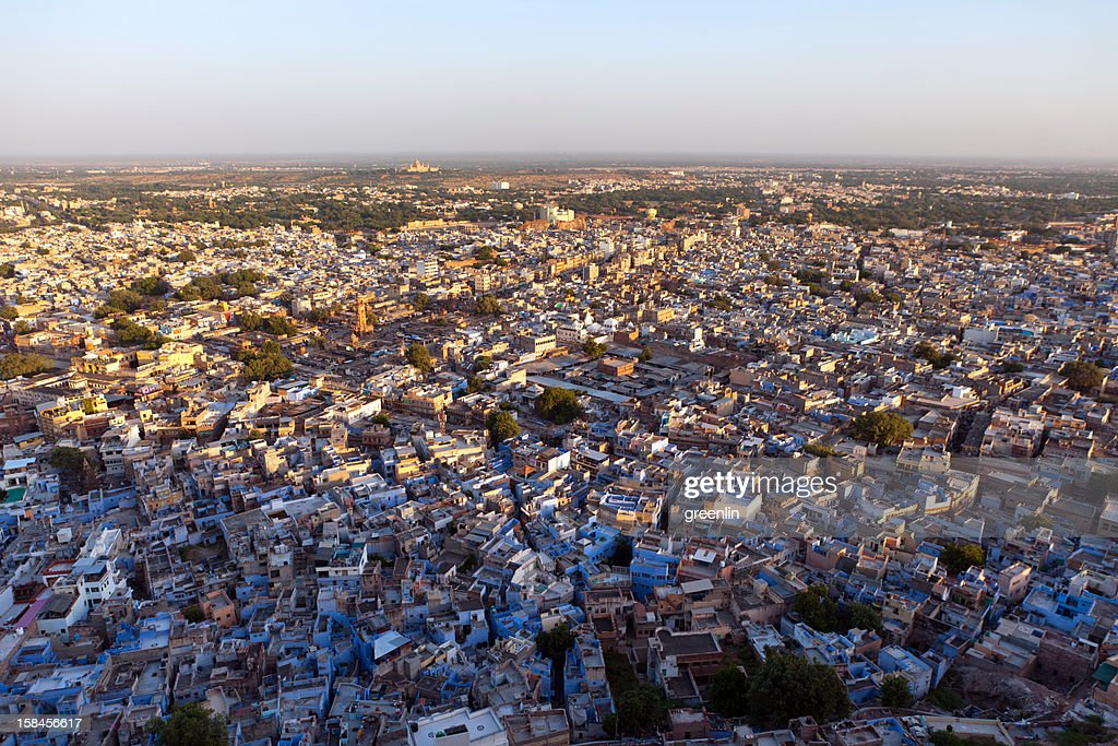 sunset in the Meherangarh Fort Jodhpur.india : Stock Photo