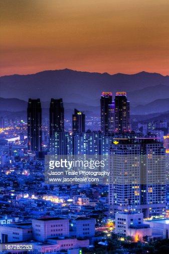 Sunset in Ulsan
