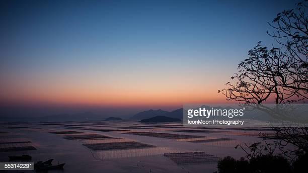 Sunset in Xiapu