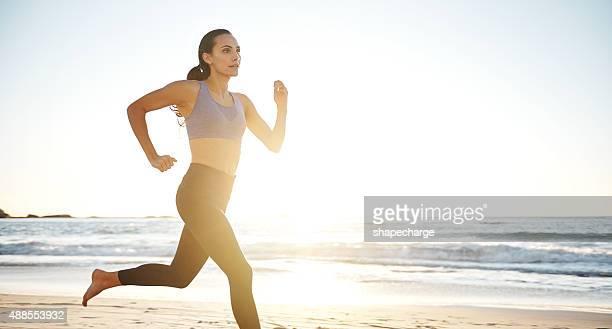 La puesta del sol es el mejor momento para correr