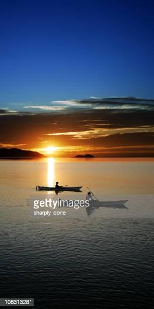 XXXL sunset kayaking