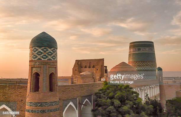 Sunset Khiva, Uzbekistan