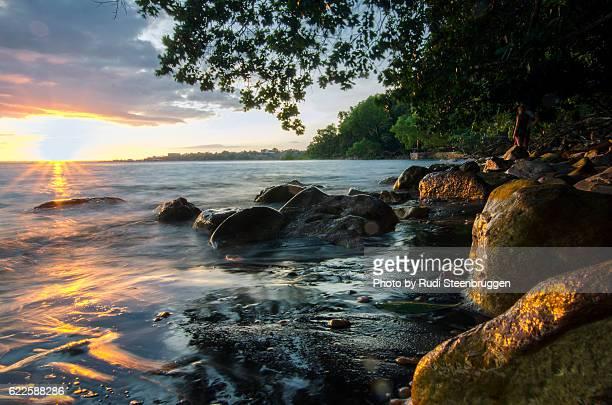 Sunset Lameroo Beach