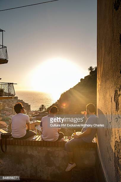 Sunset, Manarola, Cinque Terre, Italy