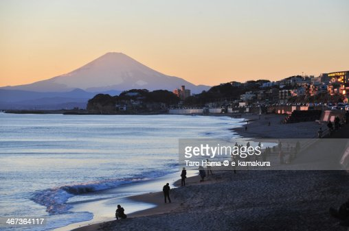 Sunset Mt.Fuji
