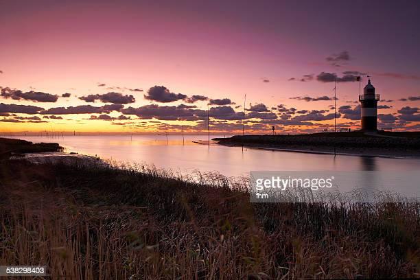 Sunset near the North Sea