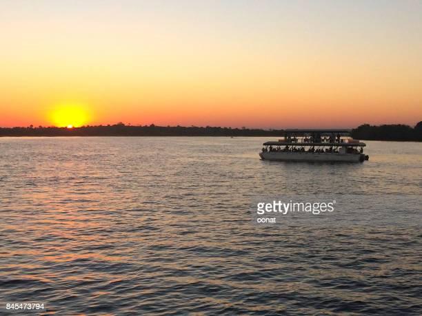 Sunset of the Zambezi