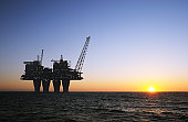 sunset offshore platform