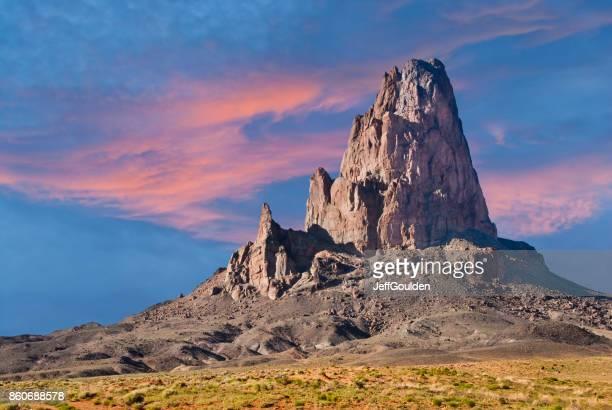 Sunset on Agathla Peak