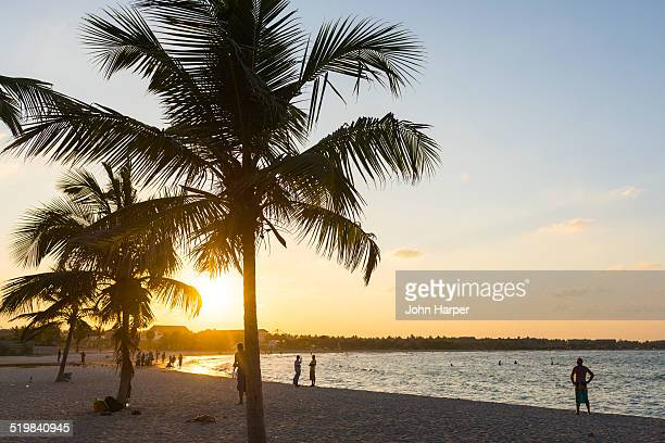 Sunset on Passekudah Beach, Sri Lanka