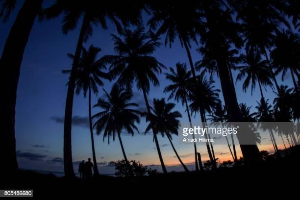 Sunset on Sorake Beach