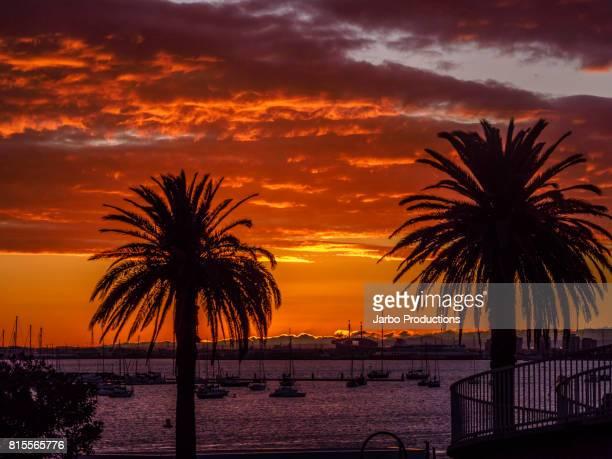 Sunset on St Kilda Waterfront