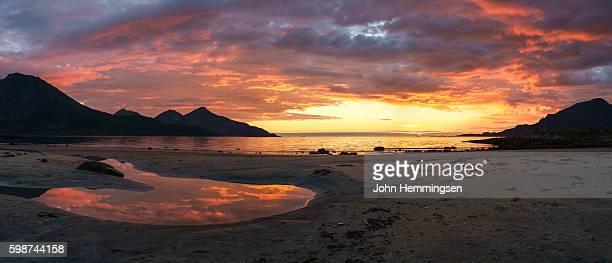 sunset on the beach III