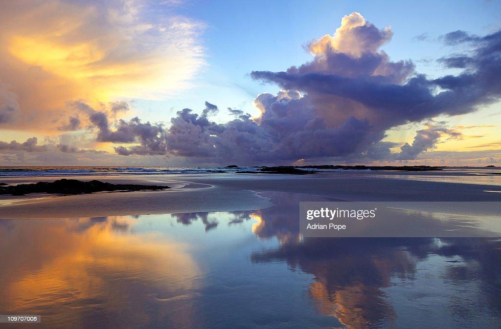 Sunset on Tiree : Stock Photo