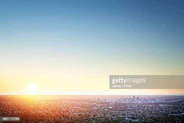 Sunset Over Adelaide