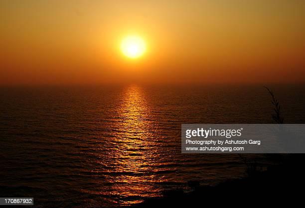 Sunset over Arabian Sea