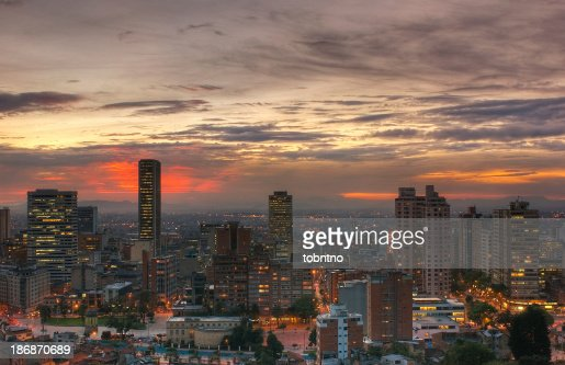 Sunset over Bogot?, HDR
