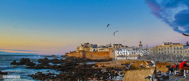 Sunset over Essaouira Medina