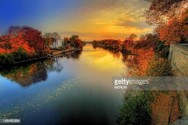 Sunset over Fulda