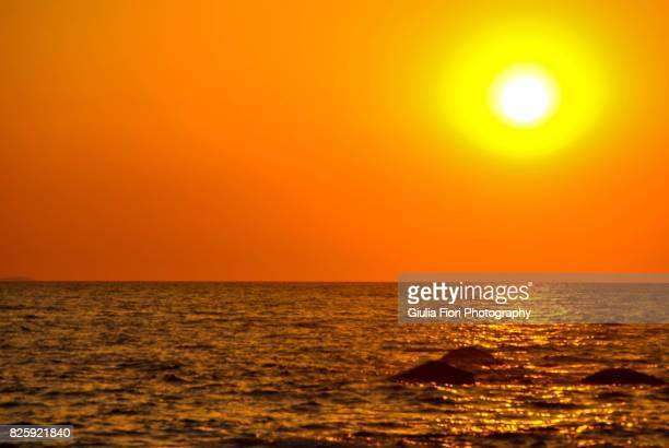 Sunset over Ischia