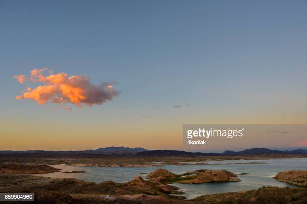 Sunset over Lake Mead